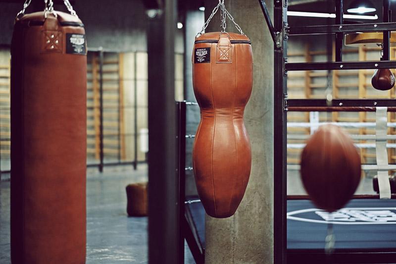 Оборудование для бокса и единоборств в клубе Men Only Boxing