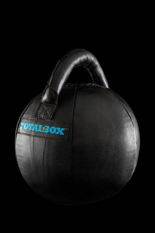 Гиря мягкая кожаная «TOTALBOX» 10 кг