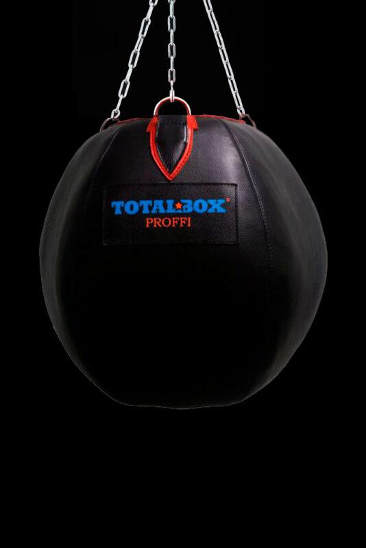 Груша боксерская кожаная TOTALBOX «шар»