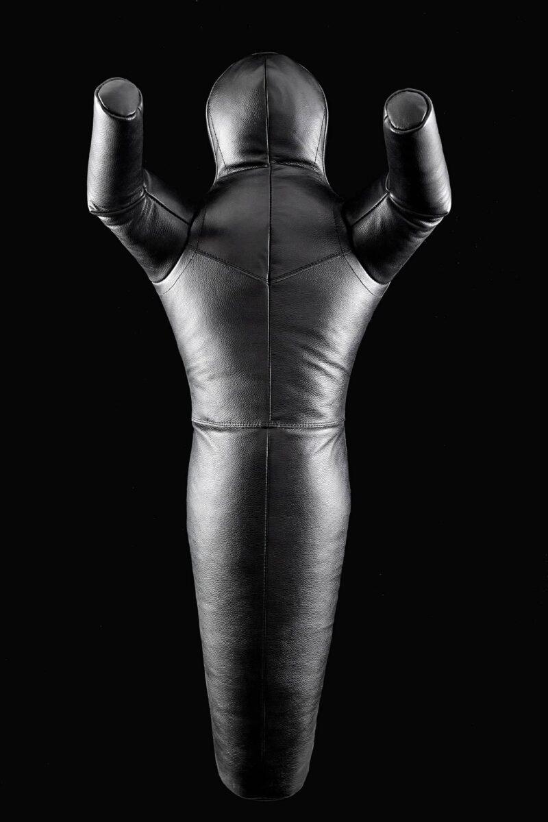 Манекен для борьбы «TOTALBOX» одноногий кожаный