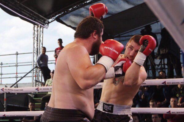 Боксерские перчатки TOTALBOX на Big Drama Show 2