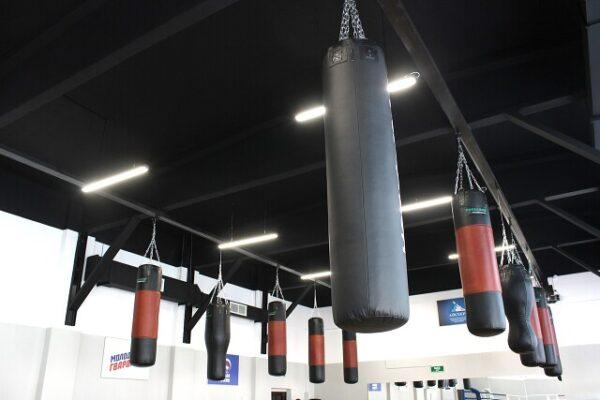 Зал бокса в Академии спорта (г.Щебекино)