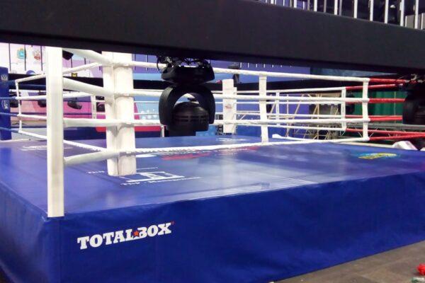 Боксерский ринг на чемпионате России в Самаре