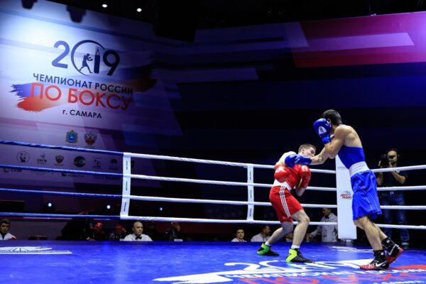 Чемпионат России по боксу проходит на наших рингах «TOTALBOX»