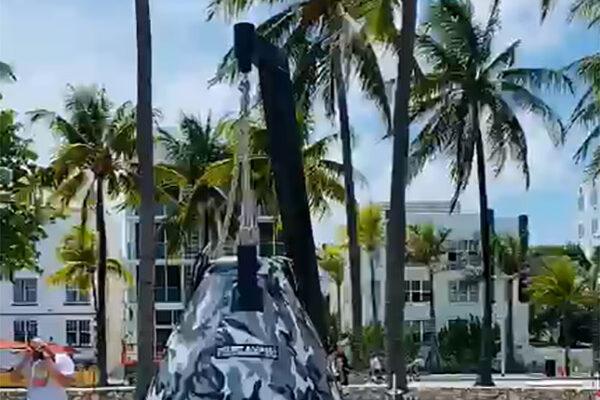 Наше оборудование на пляжах Майами!