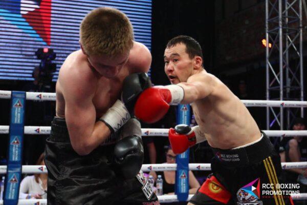 Денис Лашин - Акжол Сулаиманбек Уулу - бой за титул WBC Asia Continental