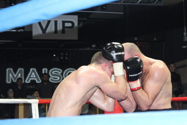 Презентация боксерских перчаток «TOTALBOX»