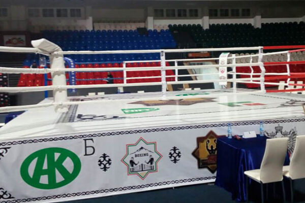 Ринг TOTALBOX на чемпионате России по боксу в Грозном
