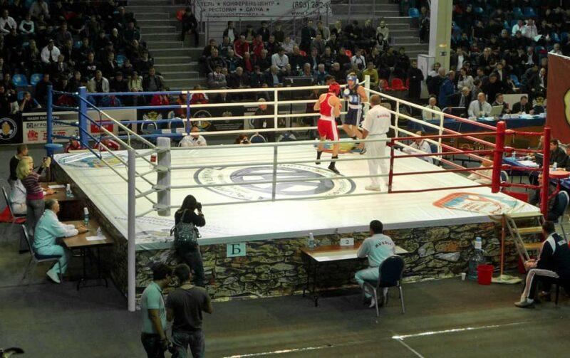 Ринг TOTALBOX на чемпиона е России по боксу 2009