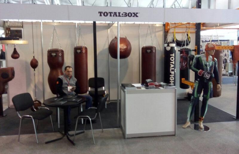 Totalbox на выставке СПОРТ