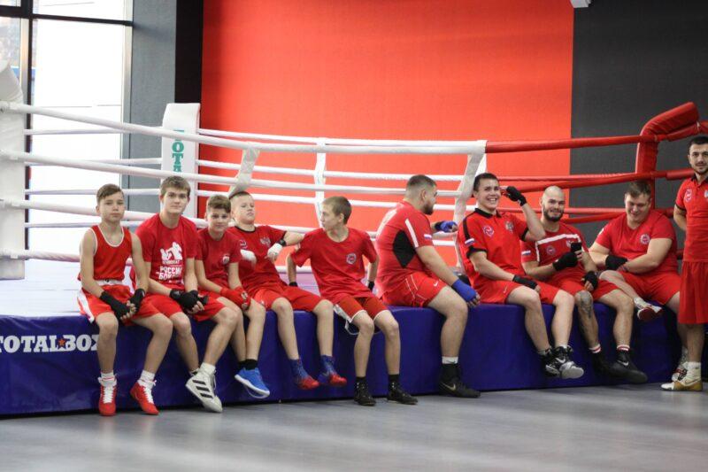 Ринг боксерский TOTALBOX в спорткомплексе Тула-Арена