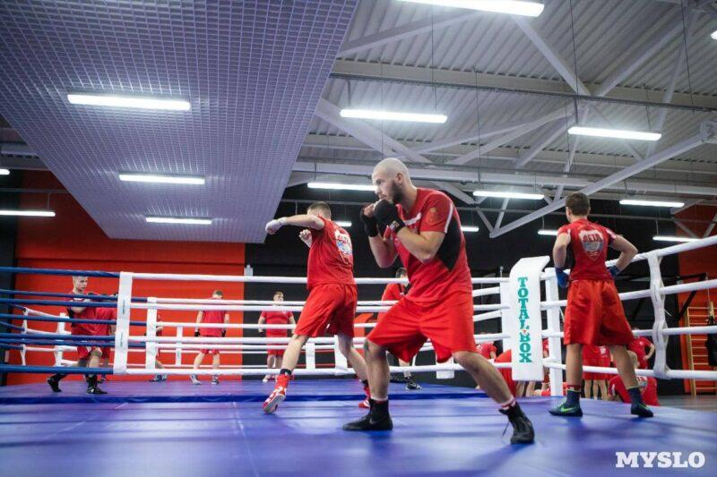 Ринг TOTALBOX в спорткомплексе Тула-Арена